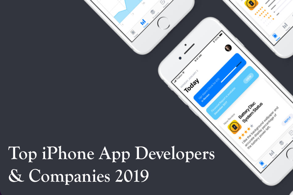 Leading iPhone App Developers & development Companies 2019