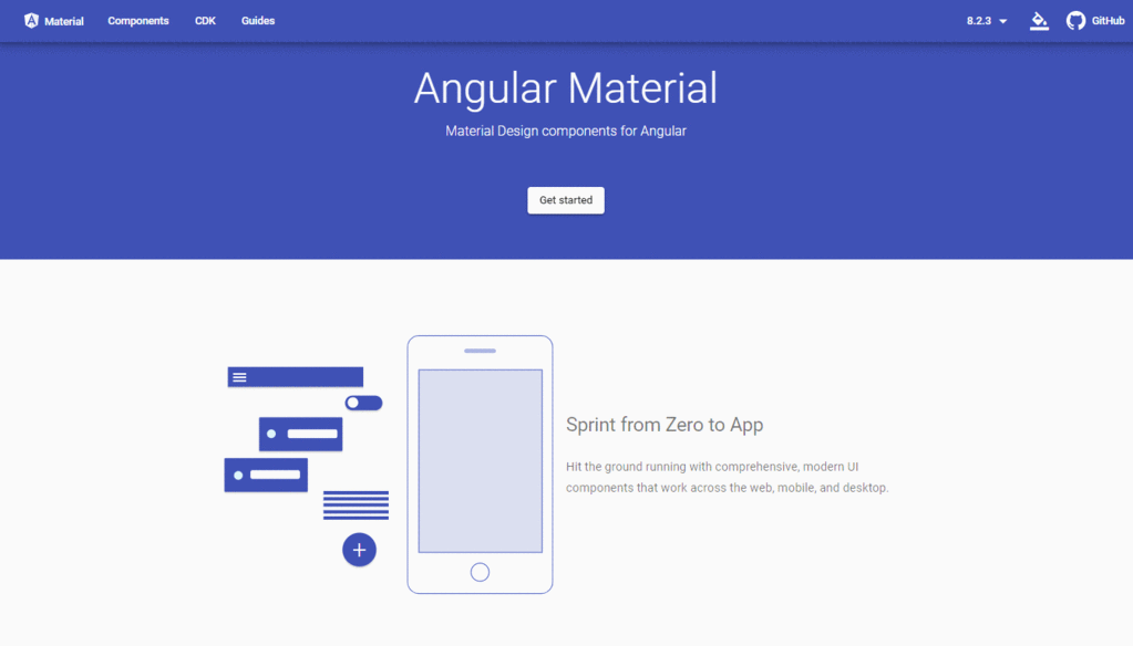 -Angular Material and Component Development Kit (CDK)